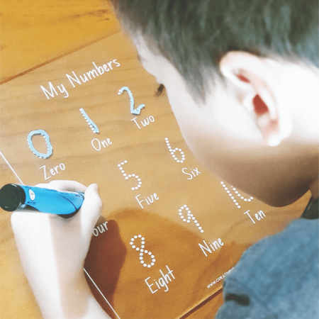 Number Trace Board