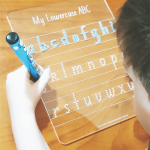 Lowercase Letters Trace Board
