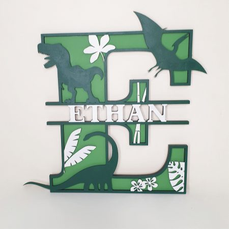 Personalised Letter Wall Plaques