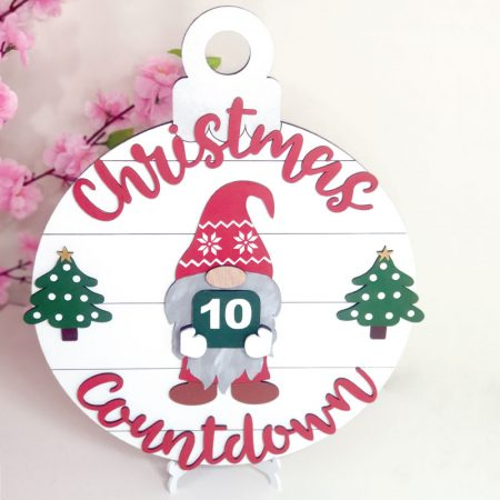 Gnome Christmas Countdown